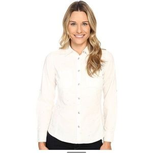 Cotton  Structured Button-Up